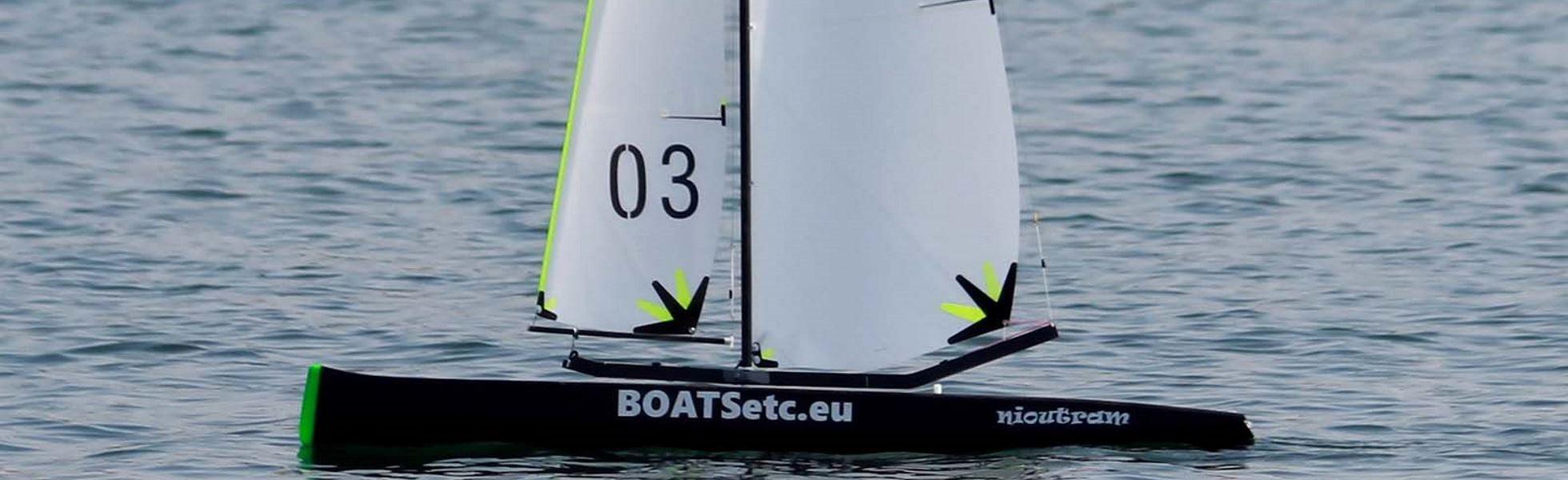 BOATSetc high performance carbon RC sail boats